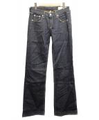 rag&bone(ラグアンドボーン)の古着「セミフレアシルエットデニムパンツ」|インディゴ