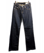 rag&bone(ラグアンドボーン)の古着「フレアデニムパンツ」|インディゴ