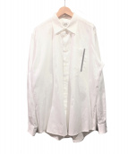 HERMES(エルメス)の古着「セリエボタンシャツ」|ホワイト