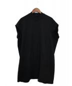DRKSHDW(ダークシャドウ)の古着「ノースリーブスウェットシャツ」|ブラック