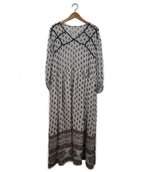 TODAYFUL(トゥデイフル)TODAYFUL (トゥデイフル) Georgette Pattern Dress ベージュ サイズ:36 11710318の古着・服飾アイテム