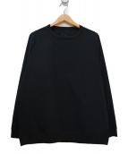 TEATORA(テアトラ)の古着「CARTRIDGE SWEATER」|ブラック