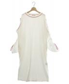 mother(マザー)の古着「MEMPHIS DRESS」|ホワイト