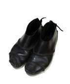 Trippen(トリッペン)の古着「バックレースアップレザーシューズ」|ブラック