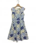 TOCCA()の古着「CEREJEIRAドレス」|ブルー