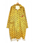 PHINGERIN(フィンガリン)の古着「パジャマシャツ」|イエロー
