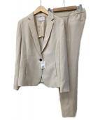 UNTITLED(アンタイトル)の古着「ドレッサーセラテリーパンツスーツ」 ベージュ