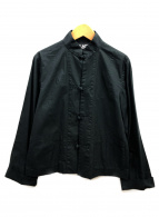 BLACK COMME des GARCONS(ブラックコムデギャルソン)の古着「チャイナシャツジャケット」 ブラック
