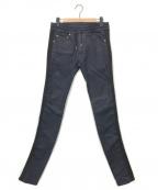 DIESEL Black Gold(ディーゼル ブラック ゴールド)の古着「ストレッチラインデニムパンツ」