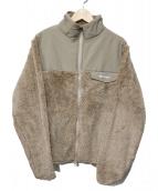 WILDTHINGS(プリマロフトジャケット)の古着「別注パイルFLブルゾン」|ベージュ