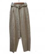 6(ROKU) BEAUTY&YOUTH()の古着「BELT PANTS」|ベージュ