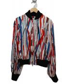Jean Paul GAULTIER(ジャンポールゴルチェ)の古着「メジャープリントジャケット」|ホワイト