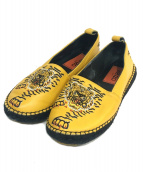 KENZO(ケンゾー)の古着「タイガー刺繍エスパドリーユ」|イエロー