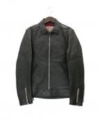 ADDICT CLOTHES()の古着「CENTER ZIP JACKET」|ブラック
