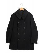 ARTS&SCIENCE(アーツ&サイエンス)の古着「Pコート」|ブラック