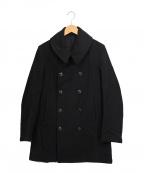 ARTS&SCIENCE(アーツアンドサイエンス)の古着「Pコート」|ブラック