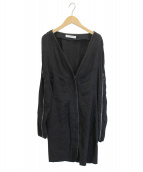 VIKTOR&ROLF(ヴィクターアンドロルフ)の古着「ロングジップデザインジャケット」 ブラック