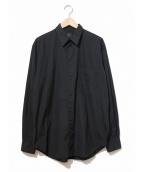 yohji yamamoto costume dhomme(ヨウジヤマモトコスチュームドオム)の古着「ドレスシャツ」|ブラック