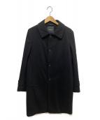green label relaxing(グリーンレーベルリラクシング)の古着「ライナー付ステンカラーコート」|ブラック