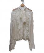 SELF PORTRAIT(セルフ ポートレイト)の古着「レースブラウス」|ホワイト