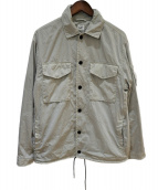 C.P COMPANY(シーピーカンパニ)の古着「サファリジャケット」|グレー