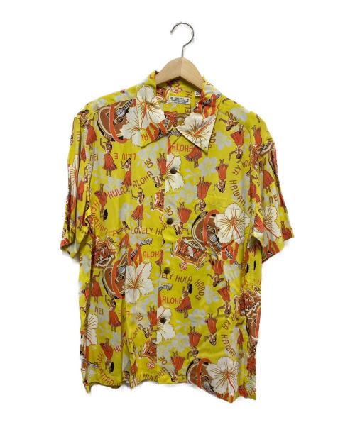 Sun Surf(サンサーフ)Sun Surf (サンサーフ) アロハシャツ イエロー サイズ:Lの古着・服飾アイテム