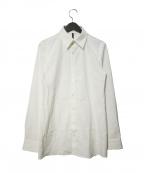 Galaabend(ガラアーベント)の古着「ブロードクロスストレッチシャツ」|ホワイト
