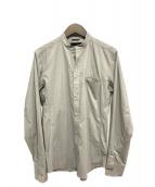 junhashimoto(ジュンハシモト)の古着「バンドカラーシャツ」|グレー