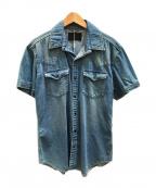 Junhashimoto(ジュンハシモト)の古着「デニムシャツ」 インディゴ