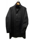 junhashimoto(ジュンハシモト)の古着「スタンドカラーコート」|ブラック