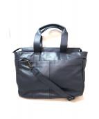 Calvin Klein(カルバンクライン)の古着「2WAYビジネスバッグ」|ネイビー