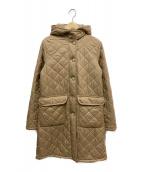MACKINTOSH(マッキントッシュ)の古着「キルティングコート」|ベージュ