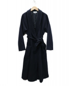 LOISIR(ロワズィール)の古着「ロングコート」|ネイビー