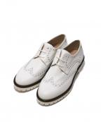 CORSO ROMA 9(コルソローマノーヴェ)の古着「ウィングチップシューズ」 ホワイト