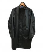 FRED PERRY(フレッドペリー)の古着「スタンドカラーコート」|ネイビー