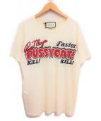 GUCCI(グッチ)の古着「19SS プリントTシャツ」|アイボリー