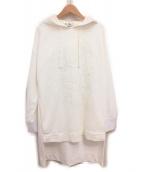 FENDI(フェンディ)の古着「刺繍パーカー」|ホワイト