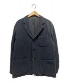 UNIVERSAL PRODUCTS.(ユニバーサルプロダクツ)の古着「カシミヤブレンドテーラードジャケット」|グレー