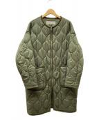 THE SHINZONE(ザ シンゾーン)の古着「キルティングコート」|オリーブ
