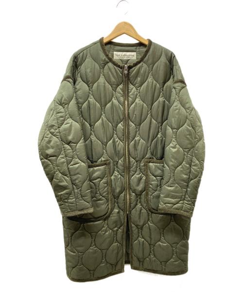 THE SHINZONE(ザ シンゾーン)THE SHINZONE (ザ シンゾーン) キルティングコート オリーブ サイズ:Freeの古着・服飾アイテム