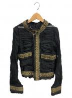 JUNYA WATANABE CDG(ジュンヤワタナベコムデギャルソン)の古着「ジャケット」|ブラック