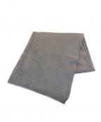 ASAUCE MELER(アソースメレ)の古着「カシミヤファーニットストール」|グレー