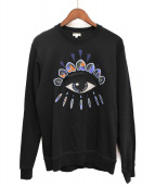 KENZO(ケンゾー)の古着「Eye スウェットシャツ」|ブラック