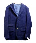 DEPETRILLO(デペトリロ)の古着「リネンブレザー」|ネイビー