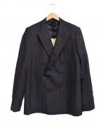MAISON FLANEUR(メゾン フラネウール)の古着「ダブルジャケット」 ネイビー