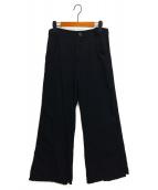 Y's(ワイズ)の古着「ワイドパンツ」|ブラック