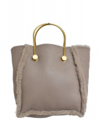 EPOCA(エポカ)の古着「リバーシブルムートントートバッグ」 モカ