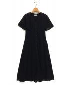 CELFORD(セルフォード)の古着「20SS コットンエンブロイダリーワンピース」|ブラック