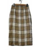 ONEIL OF DUBLIN(オニール オブ ダブリン)の古着「チェックタイトスカート」