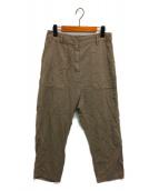 Deuxieme Classe(ドゥーズィエムクラス)の古着「製品染 ミリタリー パンツ」 ブラウン